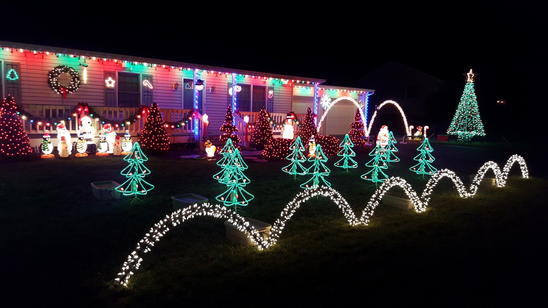 Christmas Lights In Pa.Dillsburg Lights